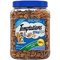 TEMPTATIONS MixUps Crunchy and Soft Cat Treats, 30 oz.