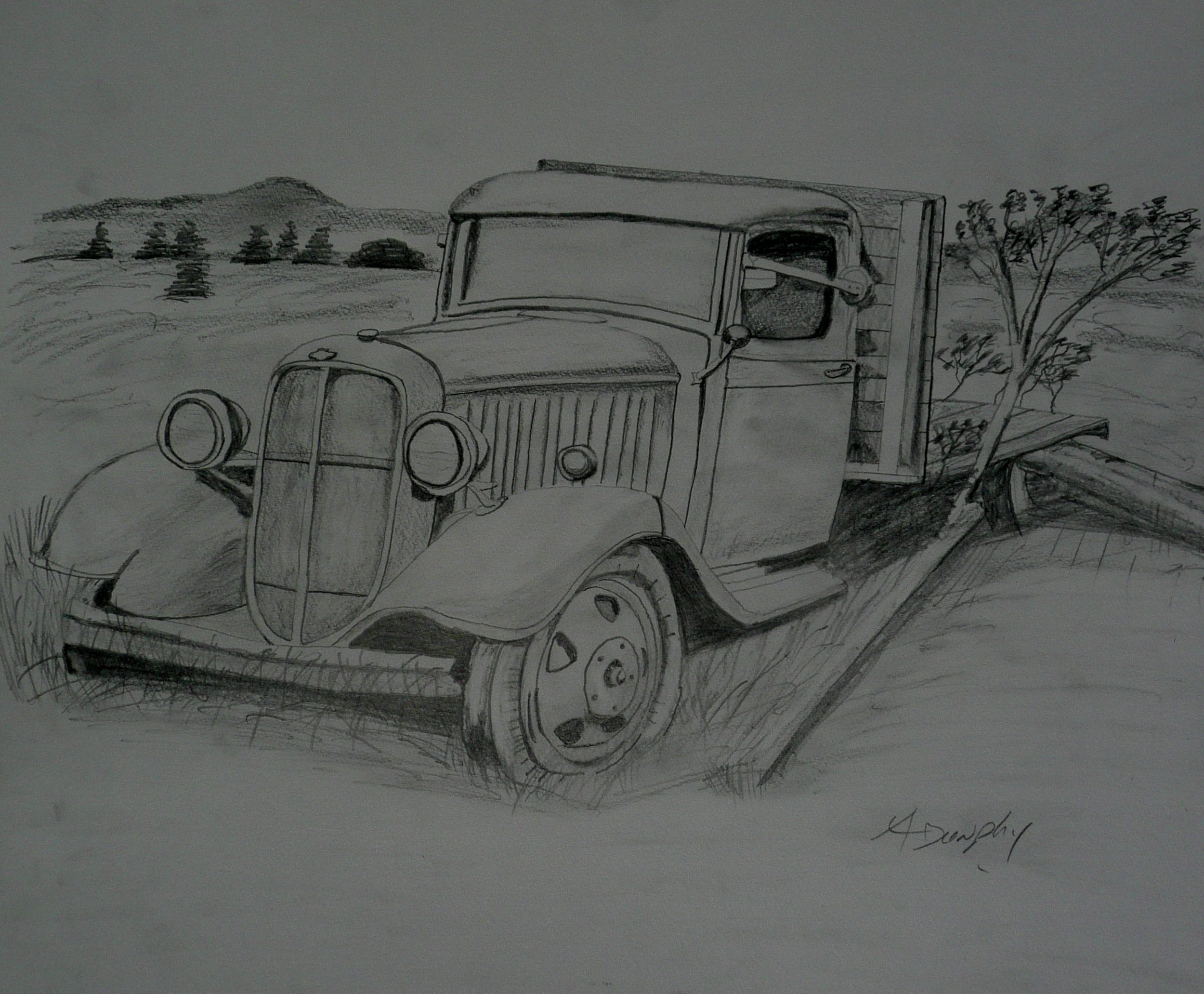 Graphite Chevrolet Truck by