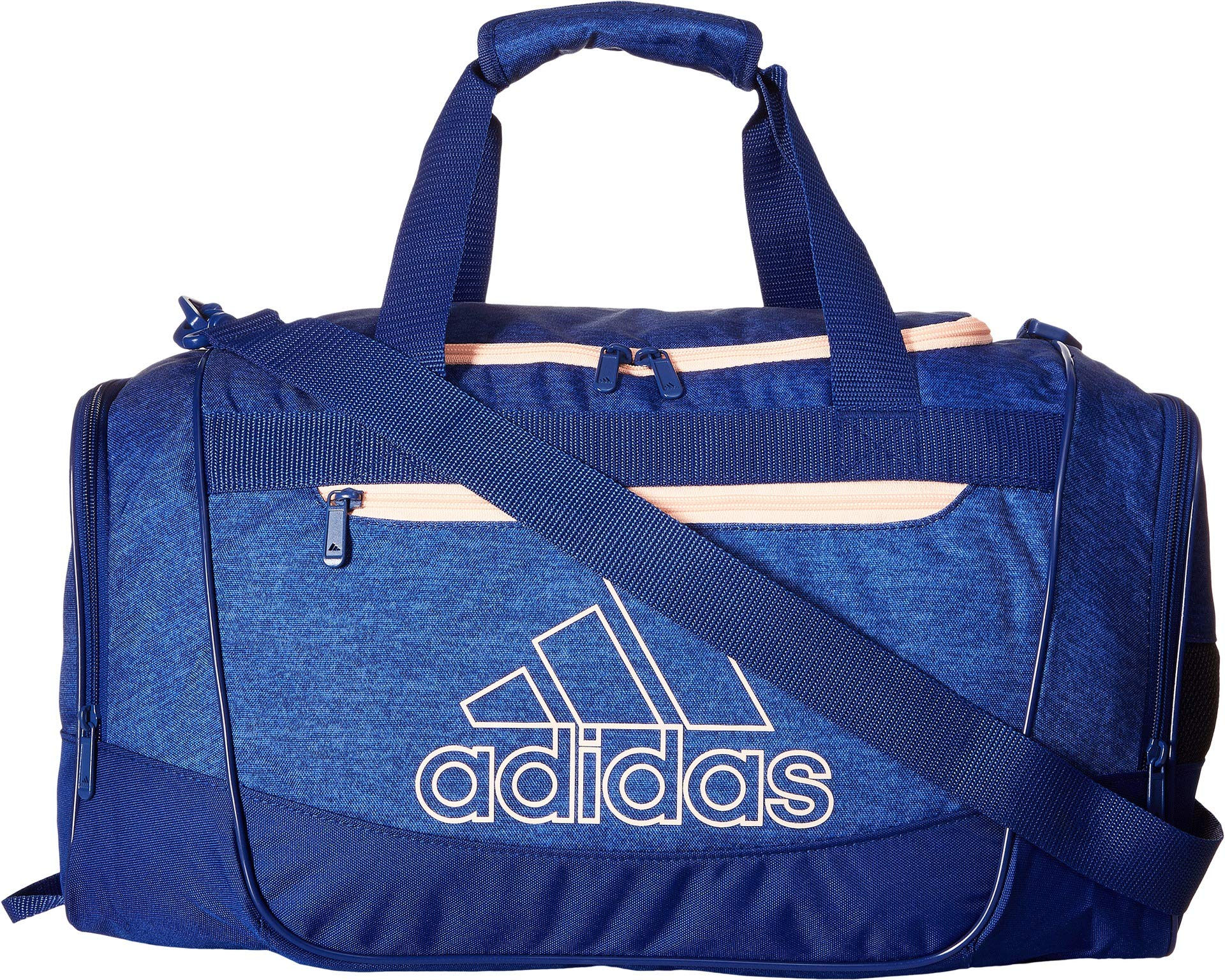 Galleon - Adidas Defender III Duffel Bag, Mystery Ink Blue Jersey Mystery  Ink Blue Clear Orange, Small 2711d0be2c
