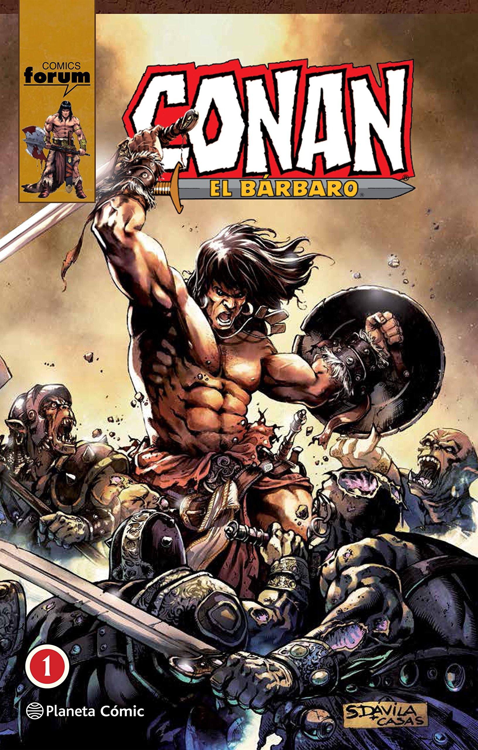 Conan El bárbaro (integral) nº 01/08 Tapa dura – 6 sep 2018 Roy Thomas Planeta DeAgostini Cómics 8491467653 Graphic novels