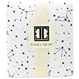 Ivanka Trump Stargazer Collection: Contoured Diaper Pad Cover for Diaper Changer - Galaxy Star Pattern in White and Blue
