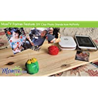 MomTV Partner Feature: DIY Clay Photo Stands from MyPrintly