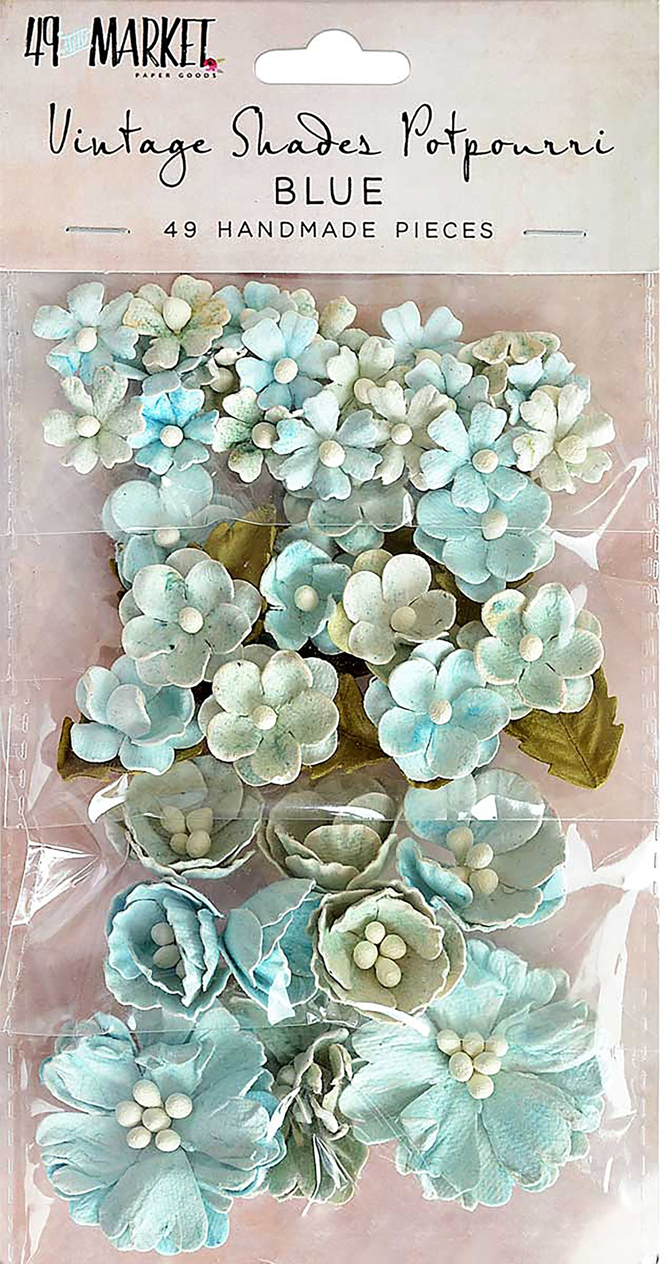 49 And Market Vintage Shades Potpourri 49/pkg-blue