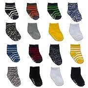 Little Me 16 Pair Baby Boy Socks