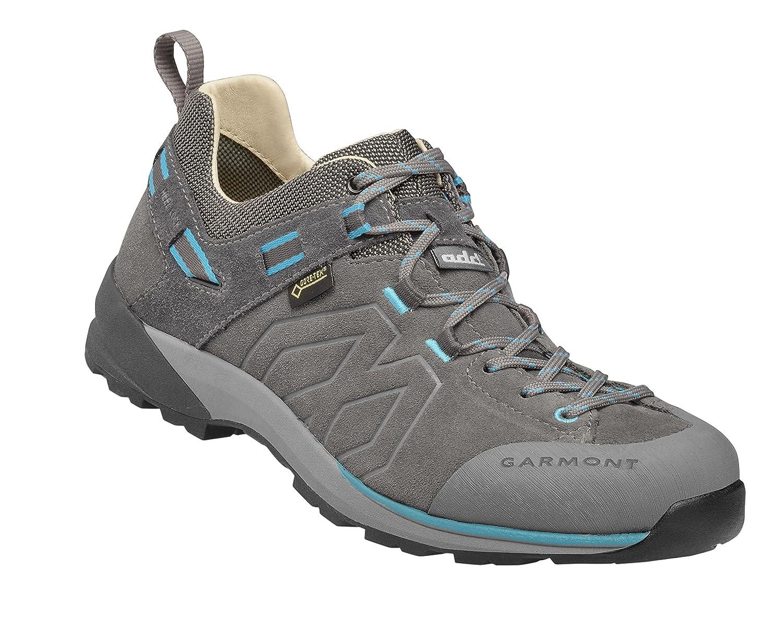 Garmont Santiago Low GTX Hiking Shoe – Women 's B077LW8T1N Grey/Turquoise 10 B(M) US
