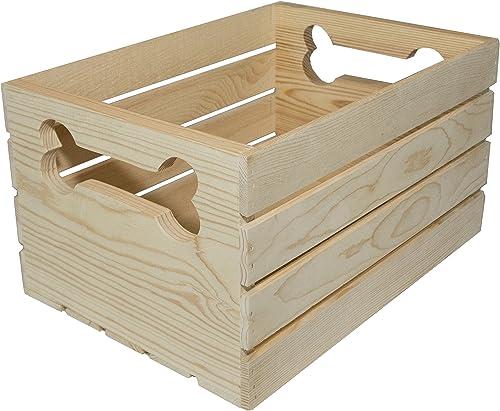 MPI WOOD Crate with Bone Handle