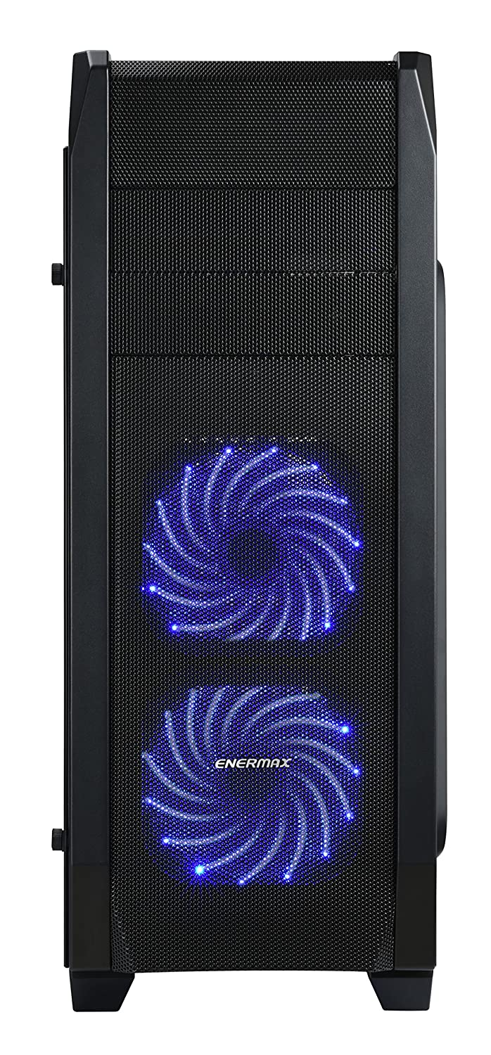 Enermax ATX Gaming Mid Tower Computer Case with Tempered Glass Side Panel