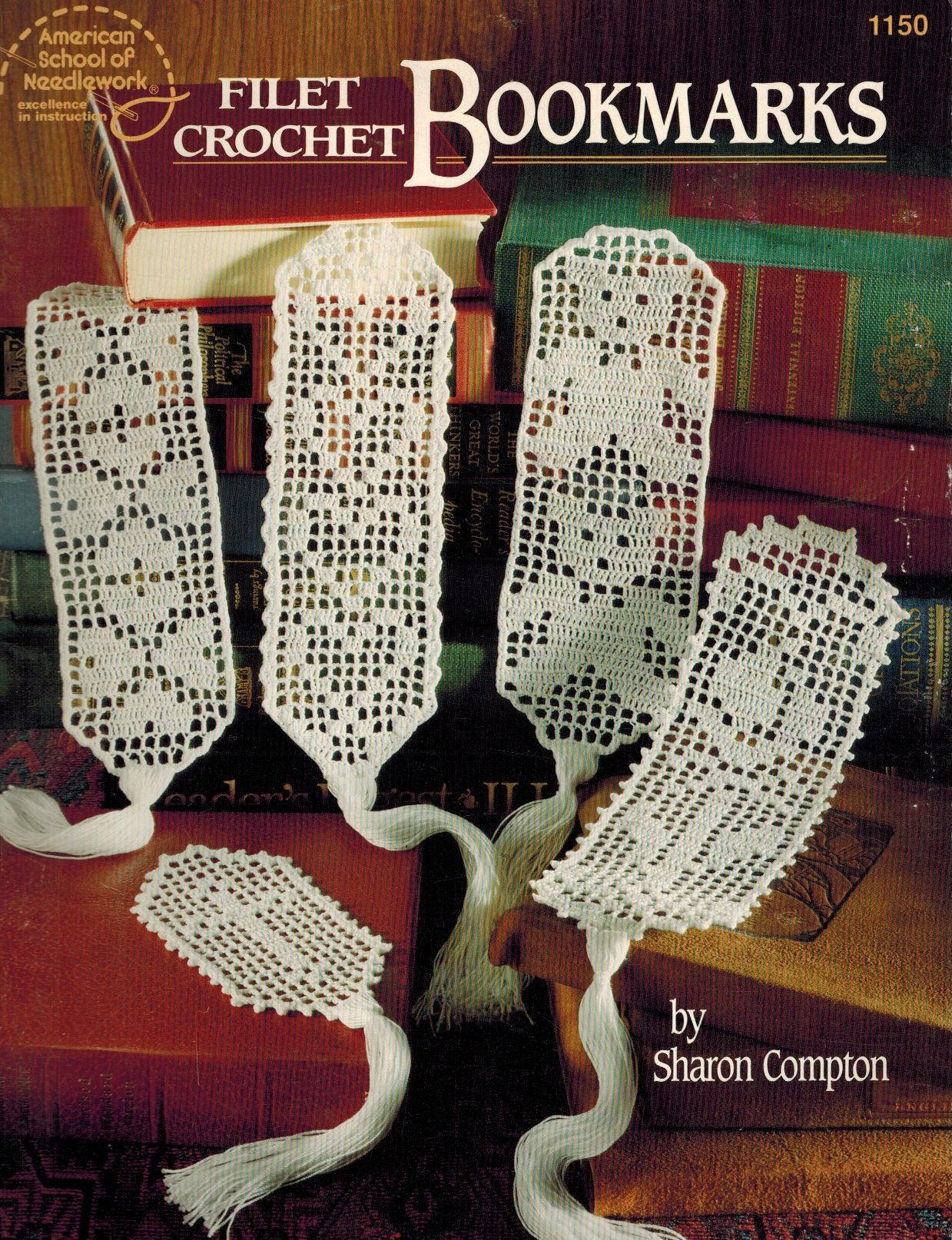 Filet crochet bookmarks: Sharon Compton: 9780881954883
