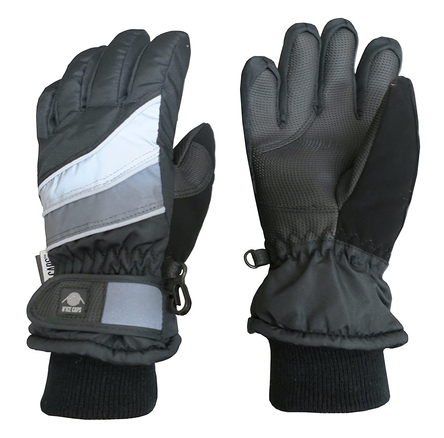 N'Ice Caps Kids Bulky Thinsulate Waterproof Winter Snow Ski Glove With Ridges 5121