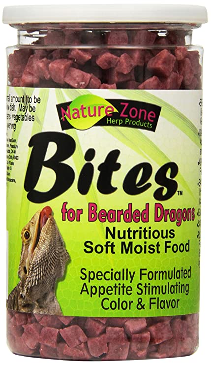 Nature Zone Bearded Dragon Bites 10 Oz