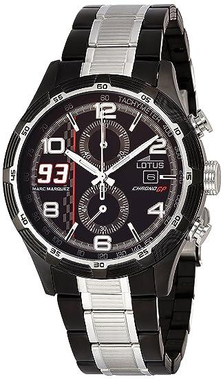 Lotus 15882/1 - Reloj de cuarzo para hombre, con correa de acero inoxidable, color bicolor: Amazon.es: Relojes