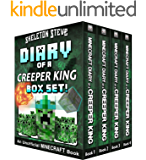 Diary of a Minecraft Creeper King BOX SET - 4 Book Collection 1: Unofficial Minecraft Books for Kids, Teens, & Nerds…