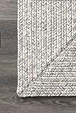 nuLOOM Lefebvre Braided Indoor/Outdoor Rug, 5' x