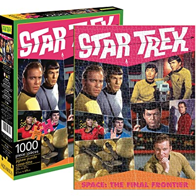 Aquarius Star Trek Retro 1000 Piece Jigsaw Puzzle: Toys & Games