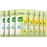 Dettol Schoonmaakdoekjes Bio afbreekbaar - Citrus 8 x 50 Doekjes Grootverpakking