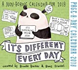 It's Different Every Day Page-A-Day Calendar 2018