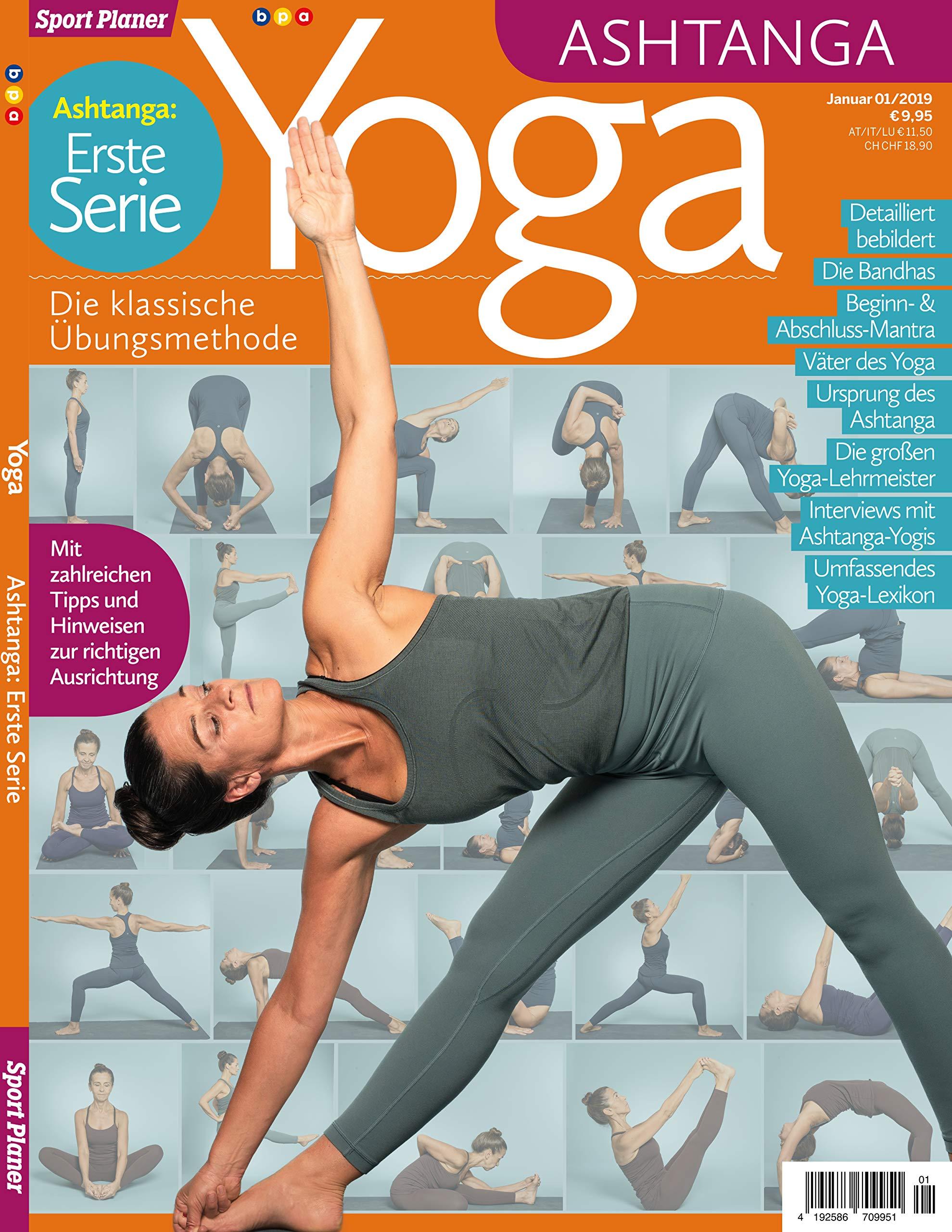 Sport Planer - Yoga - Ashtanga: Erste Serie - Die klassische ...