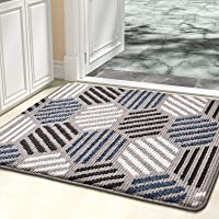 "Color&Geometry Indoor Doormat, Indoor Outdoor 32""x20"" Mat Waterproof, Non Slip Washable Quickly Absorb Moisture and…"