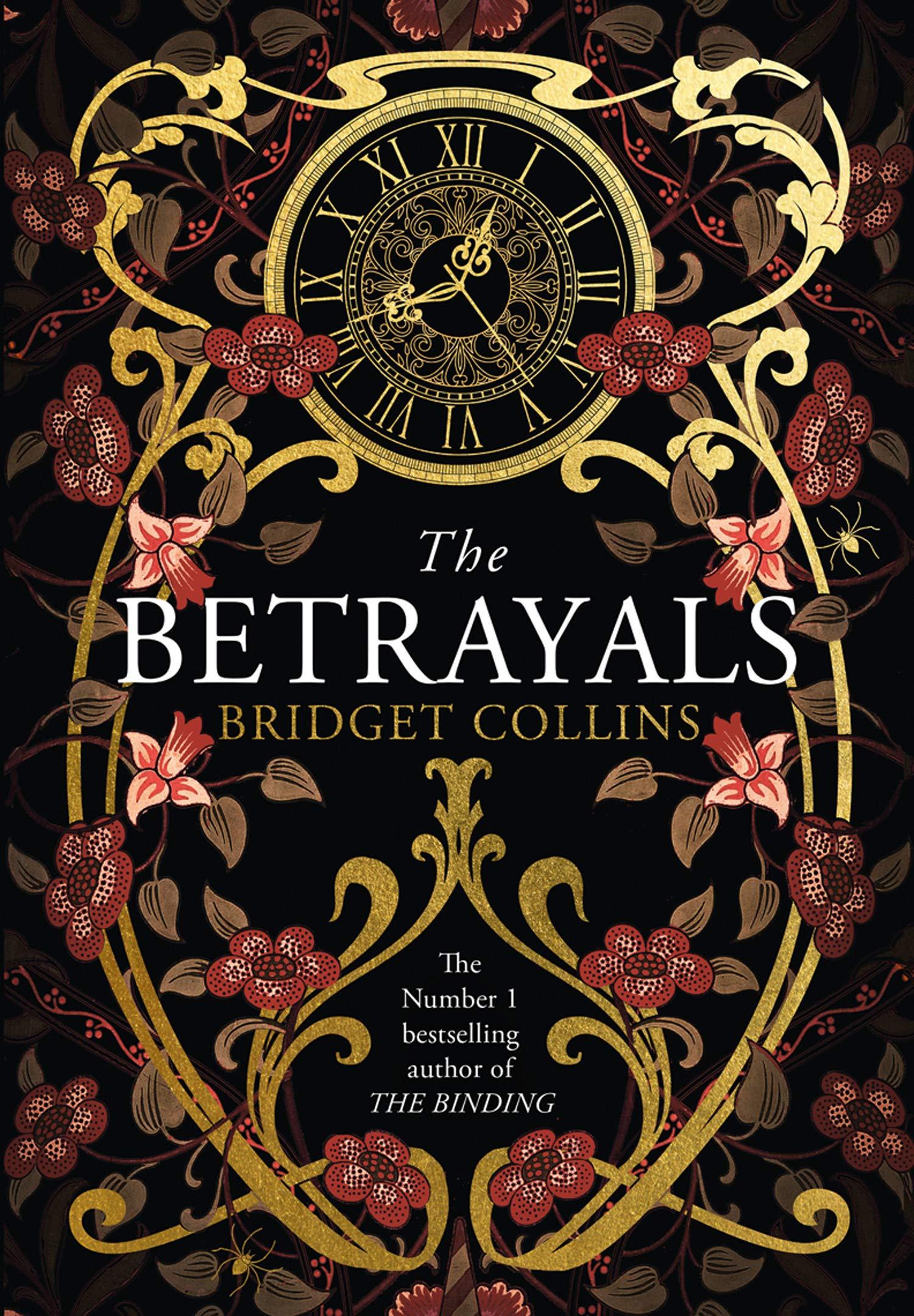 Cover: Bridget Collins The betrayals