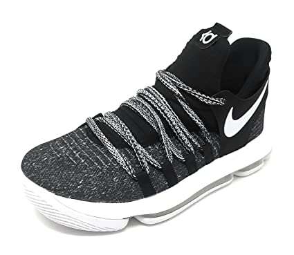 9eacc22bb1c36 7bc4f deae5  new style nike zoom kd10 kids black white 7 y 212d8 ccbe3