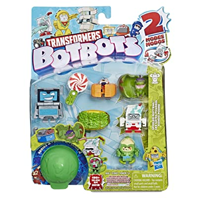 Transformers Toys Botbots Series 2 Spoiled Rottens 8 Pack – Mystery 2-in-1 Collectible Figures! Kids Ages 5 & Up (Styles & Colors May Vary) by Hasbro: Toys & Games