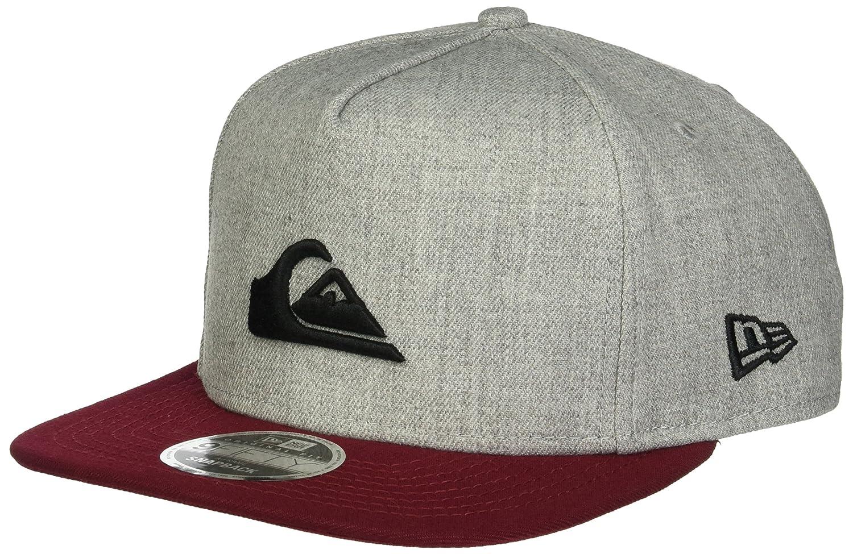 495f46d4 Amazon.com: Quiksilver Men's Stuckles Snap Trucker Hat, Light Grey Heather,  One Size: Clothing