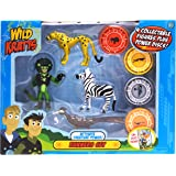 Wild Kratts 4-Pack Action Figure Set - Activate Creature Power - Runners