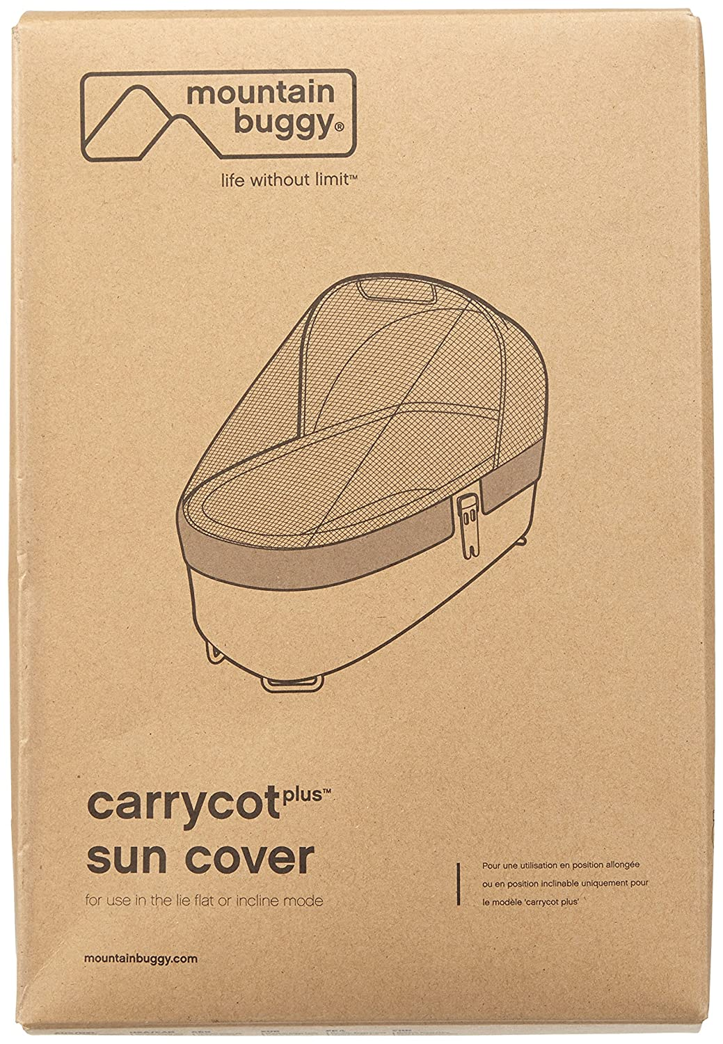 Mountain Buggy Sun Cover for Carrycot Plus for 2015 Swift and Mb Mini Strollers CCPDSM