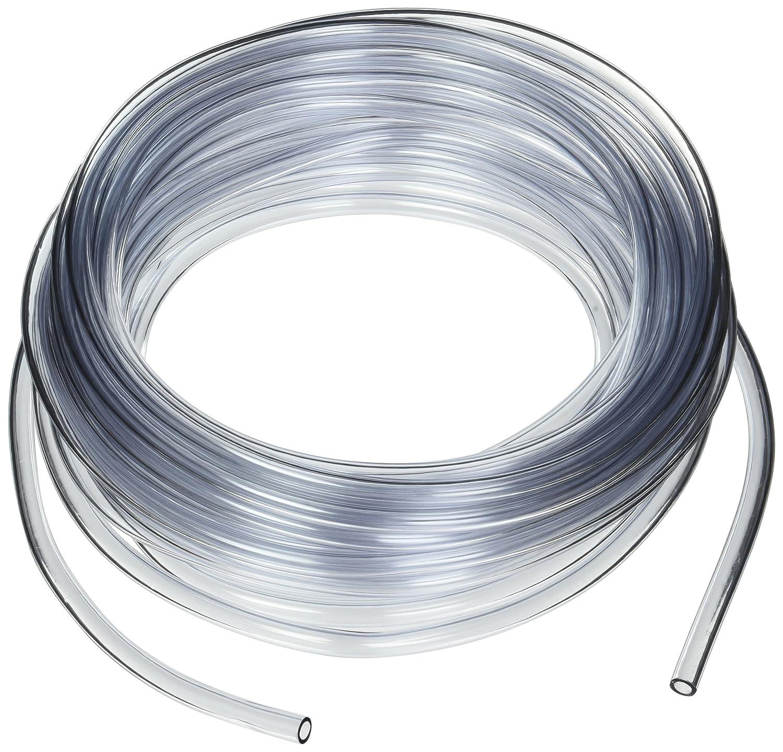 Dynalon 1211A97CS 610855-06 Transparent Vinyl Food Grade Tubing, 1/4