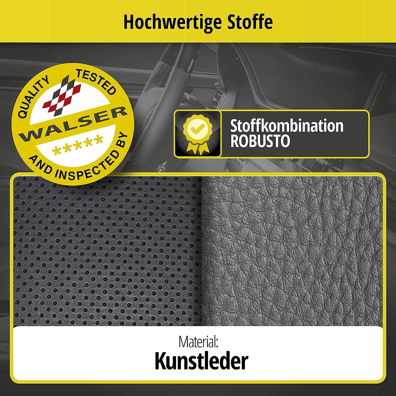 Walser Sitzbezug Aversa Schonbezug kompatibel mit Octavia Baujahr 11//2012 bis heute 1 R/ücksitzbankbezug f/ür Normalsitze