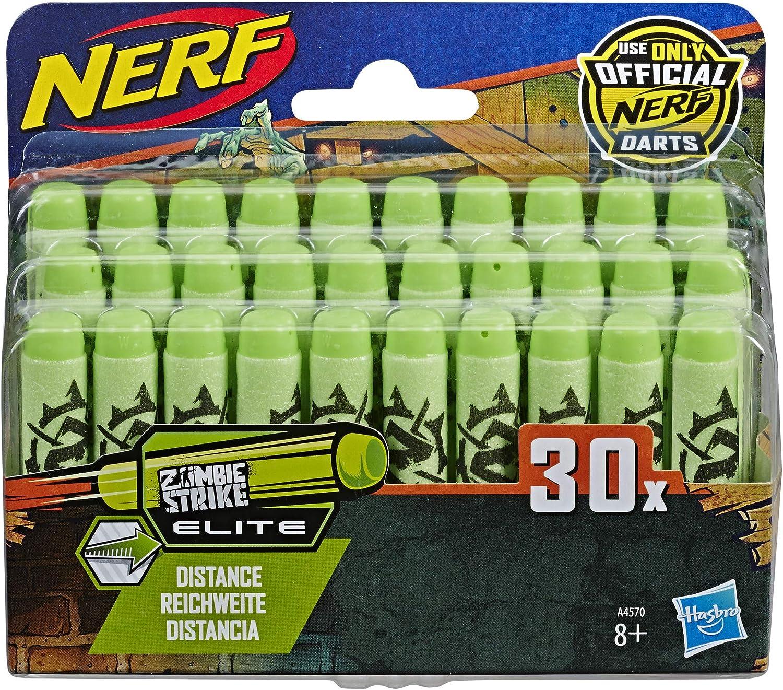 Nerf – Pack de 30 Dardos Zombie Oficiales: Amazon.es: Juguetes y juegos