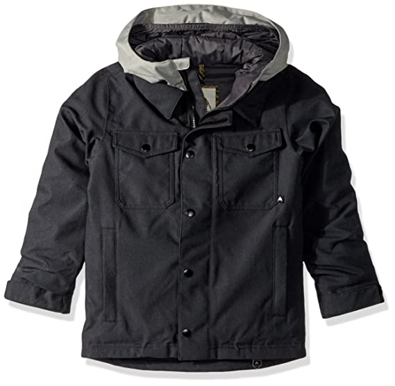 1de838849 Amazon.com   Burton Uproar Snowboard Jacket Kids Sz M Black Denim ...