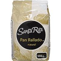 Santa Rita Pan Rallado Natural - 12 Paquetes