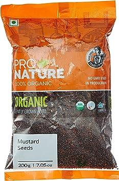 Pro Nature 100% Organic Mustard (Small) 200g