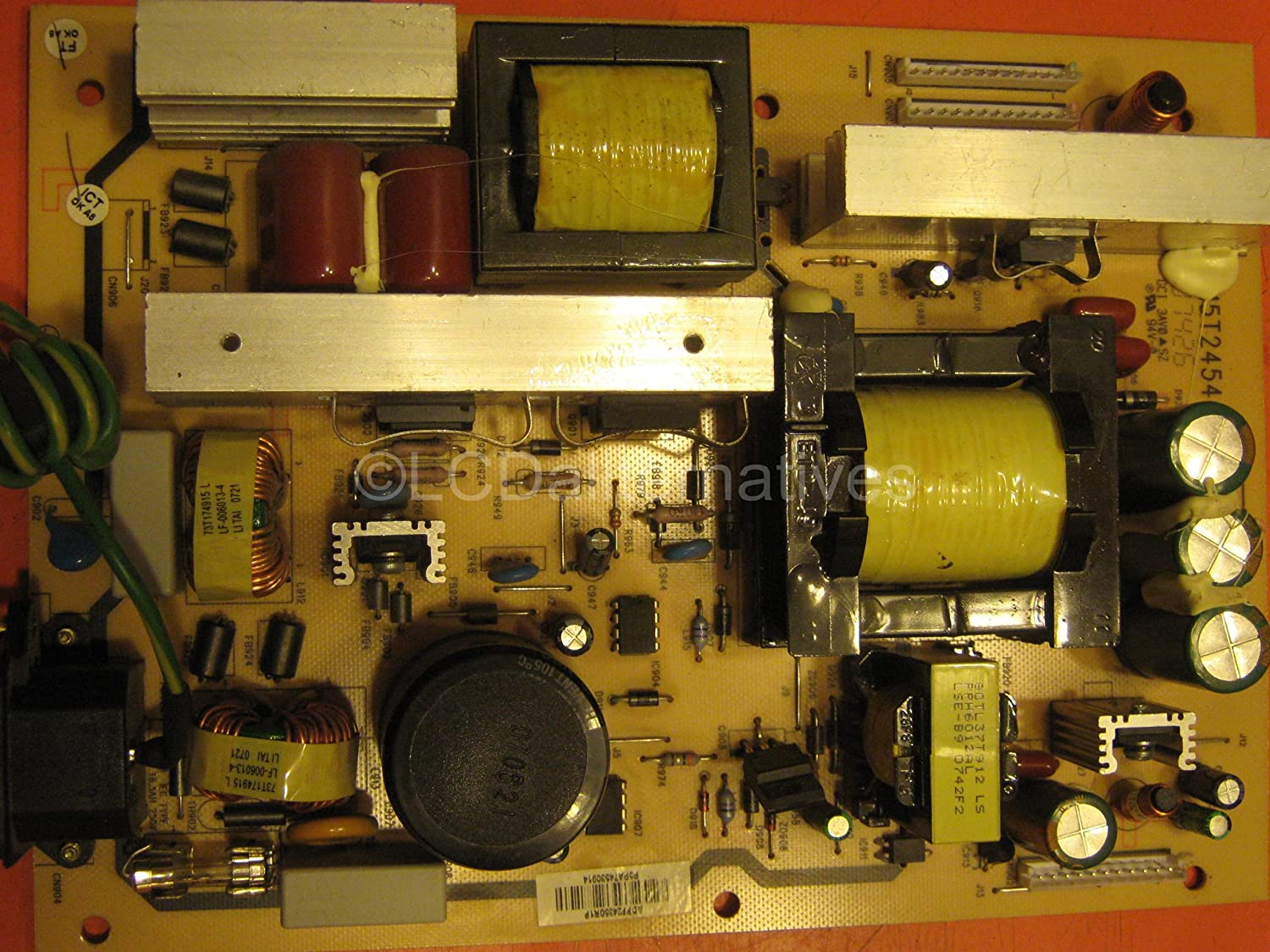 MAGNAVOX 47mf437b37 LCD TV Repair Kit, Capacitors and Diodes, Not the on