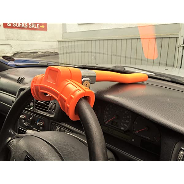 HYUNDAI IX35 10-ON Stoplock Original Car Steering Wheel Lock Anti-Theft