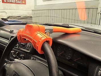 XtremeAuto - barra de bloqueo de la dirección, Extra grande, antirrobo, dispositivo de seguridad para coche, furgoneta, Camión, barco – muy resistente