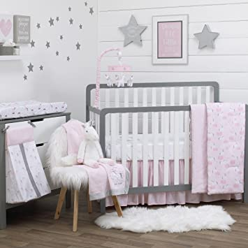 Amazon Com Nojo Unicorn 4 Piece Crib Bedding Set Baby