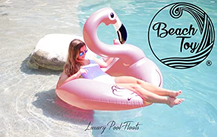 Beach Toy® - Flotador FLAMENCO gigante o cisne blanco blanco talla XL - Tendance verano
