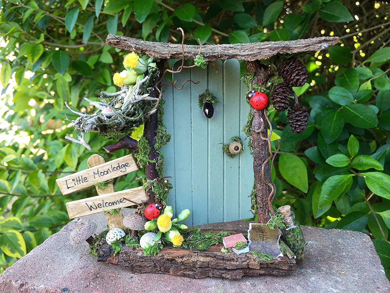 Miniature Dollhouse FAIRY GARDEN ~ Classic Fairies Tree House ~ NEW