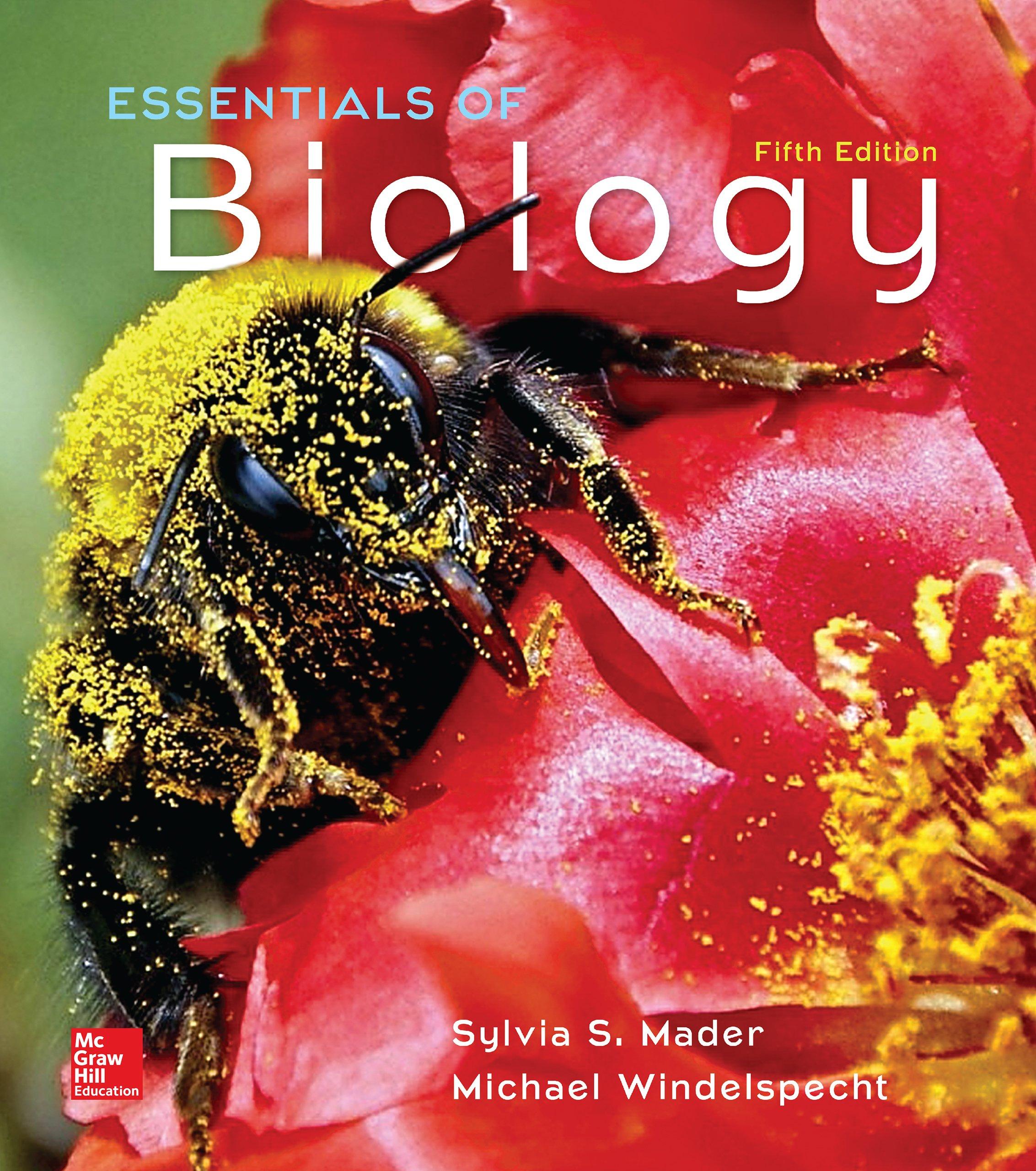 Essentials Of Biology 5 Mader Sylvia Amazon Com
