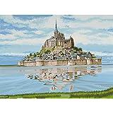 Reeves - 12159 - Peinture Par Numeros 30x40 Cm Mont Saint Michel