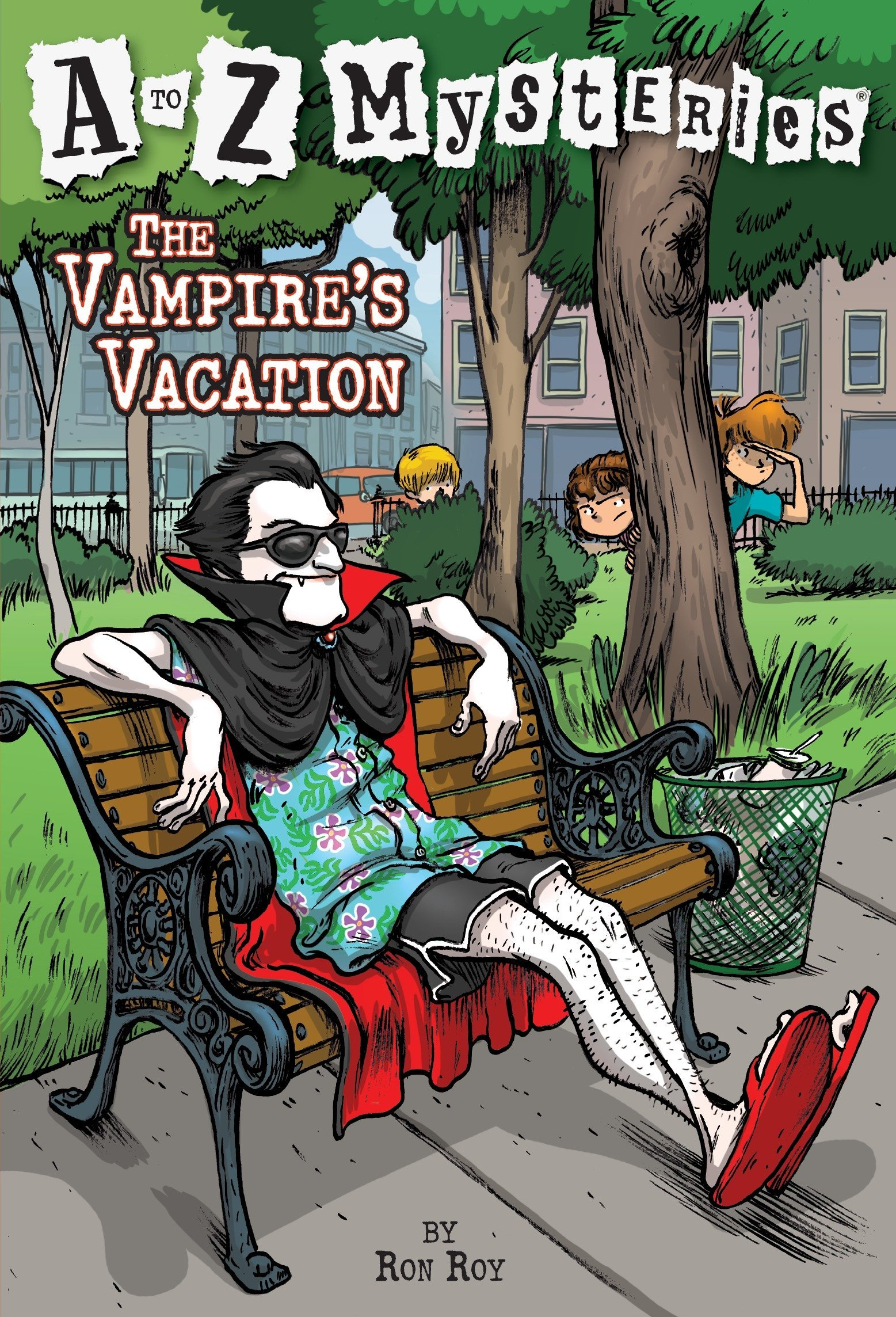 Read Online The Vampire's Vacation (A to Z Mysteries) pdf