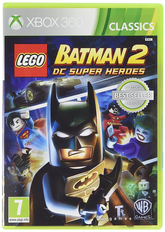 Amazon Com Lego Batman 2 Dc Superheroes Classic Xbox 360 Video Games