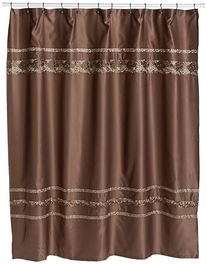 Amazon.com: Croscill Mosaic Embroidered Shower Curtain: Home & Kitchen