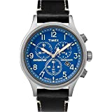 Timex Men's Expedition Scout Chronograph Leather Strap Watch