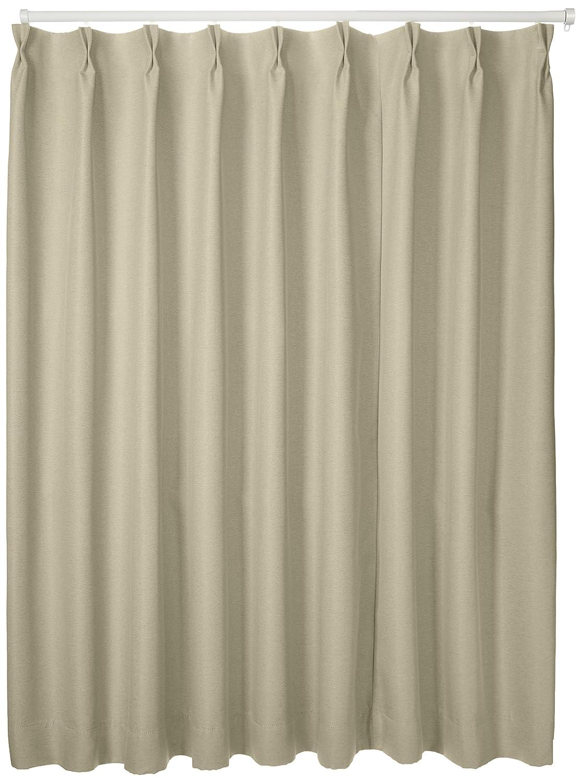 ブリーズ 1級遮光防炎遮熱カーテン 2枚入巾150cmX丈178cmベージュ B00B16YVPM 150X178|ベージュ ベージュ 150X178