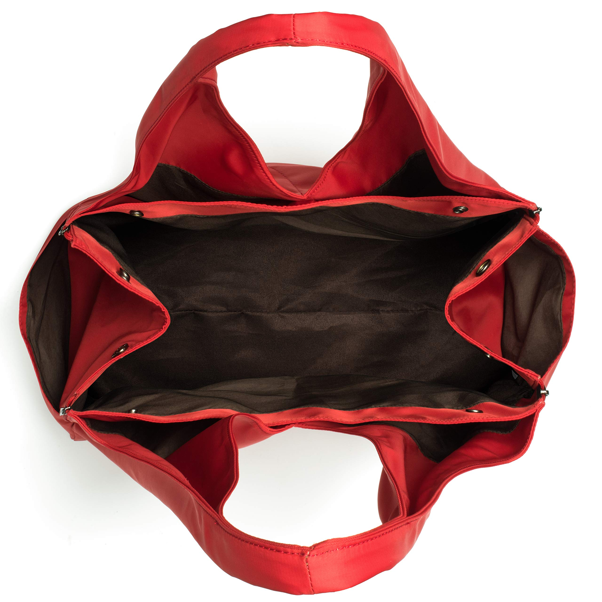 Miso Pup Shell Tote for use Interchangeable Base Pet Carrier (Shell Tote) (Shell Tote ONLY for USE with Base PET Carrier, Sporty RED) by Miso Pup