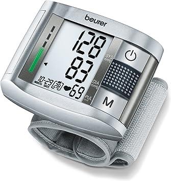 Beurer BC-19 - Tensiómetro de muñeca con voz, indicador OMS ...