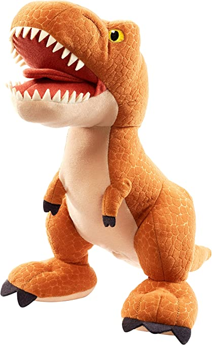Aurora Monkey Stuffed Animal, Jurassic World Toys Jurassic World Fur N Grr Dinos Indoraptor Plush